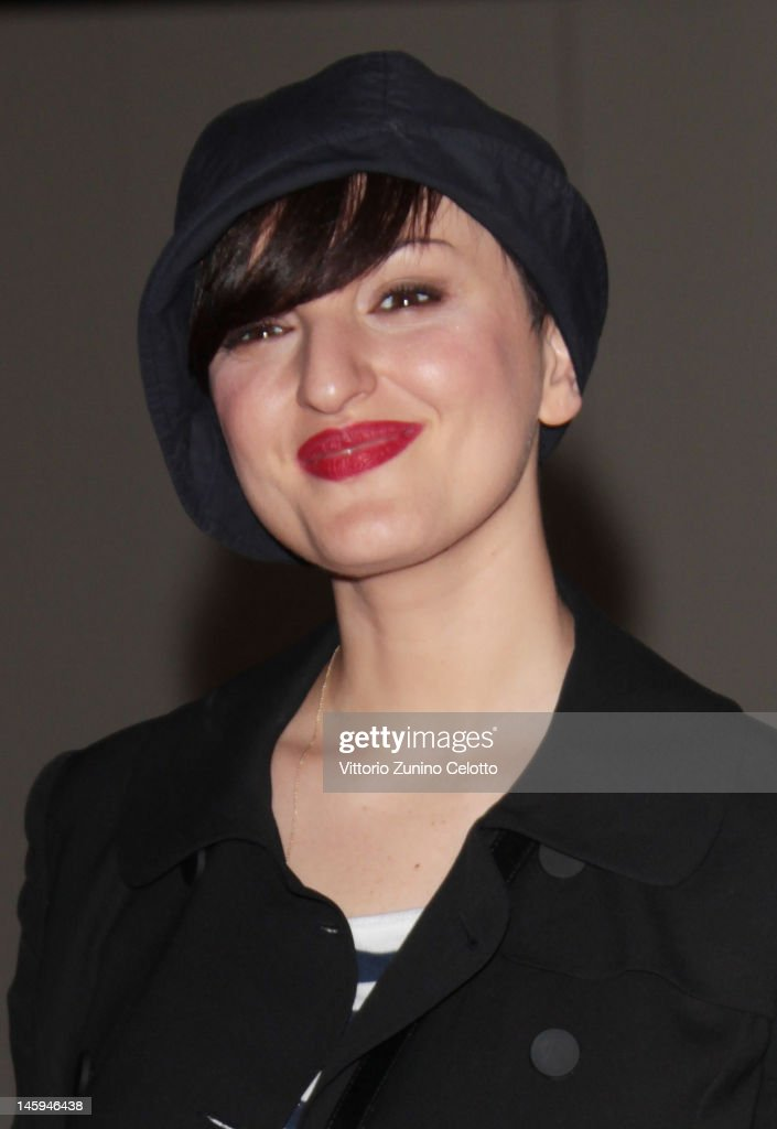 Arisa attends the 2012 Convivio charity gala event on June 7, 2012 in Milan, Italy.