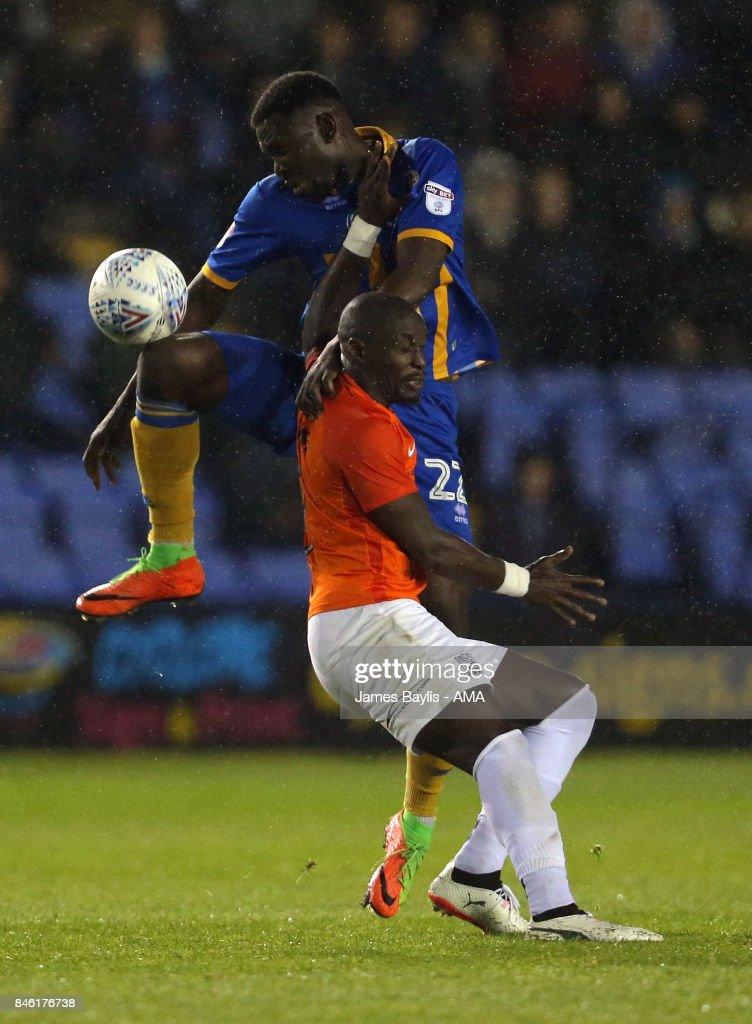 Shrewsbury Town v Southend United - Sky Bet League One
