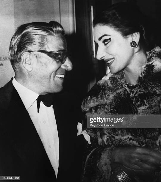 Aristote ONASSIS and Maria CALLAS in 1959 ONASSIS announced that he had married Maria CALLAS the day before to the Italian newspaper OGGI but did not...