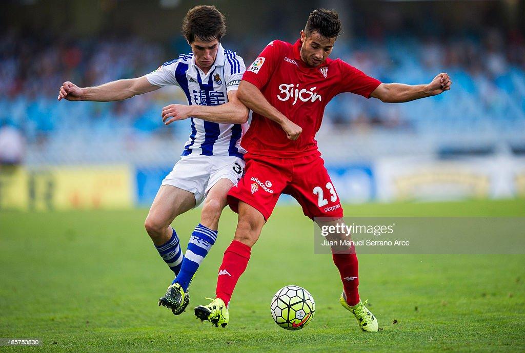 Real Sociedad de Futbol v Sporting Gijon - La Liga