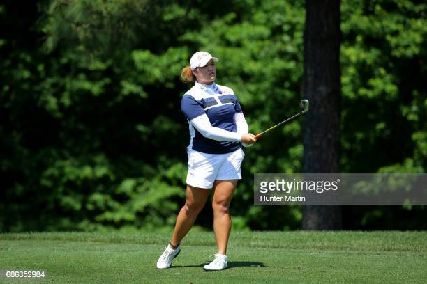 Ariya Jutanugarn of Thailand during the second round of the Kingsmill Championship presented by JTBC on the River Course at Kingsmill Resort on May...