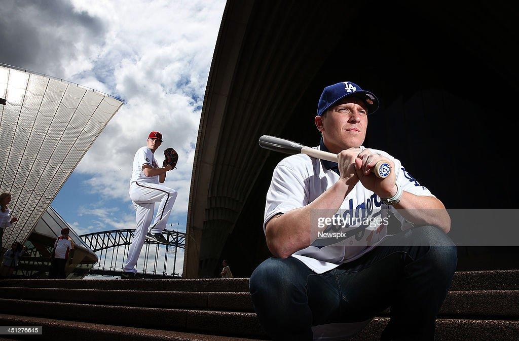 Major League Baseball Promotion At The Sydney Opera House