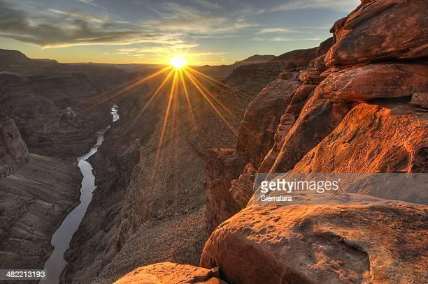 États-Unis, en Arizona, du Grand Canyon National Park, vue sur
