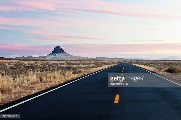 Landschaft Arizonas in der Nähe von Winslow