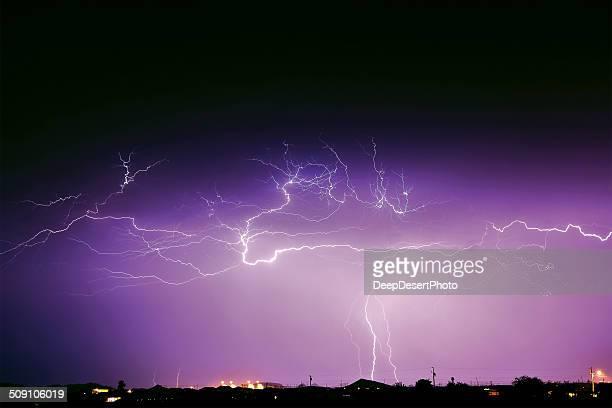 USA, Arizona, Monsoon storm