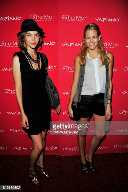 Arizona Muse and Cody Horn attend Vapiano hosts the New York Premiere of THE EXTRA MAN red carpet arrivals and afterparty at Village East Cinema and...