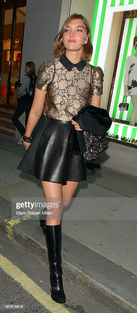 Arizona Muse at Louis Vuitton on April 25, 2013 in London, England.