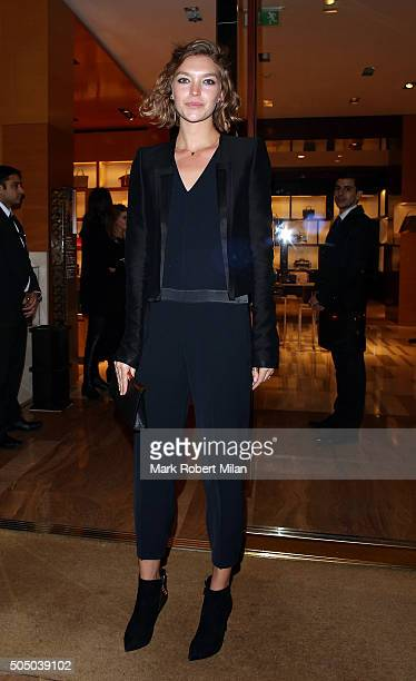 Arizona Muse at the Louis Vuitton for UNICEF party on January 14 2016 in London England