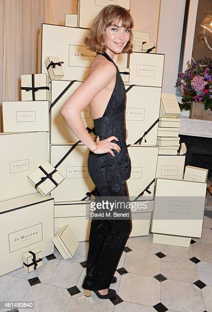 Arizona Muse attends a dinner hosted by Jo Malone London and Tallulah Harlech to launch the 'Just Because' campaign on January 13 2015 in London...