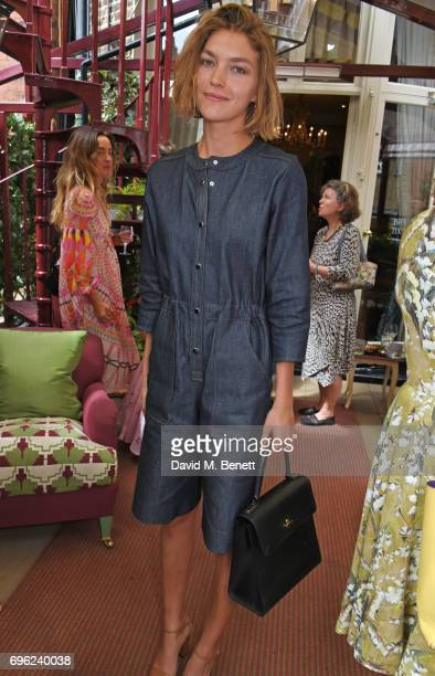 Arizona Muse attends a lunch to celebrate Veuve Clicquot by Charlotte Olympia at Mark's Club on June 15 2017 in London England