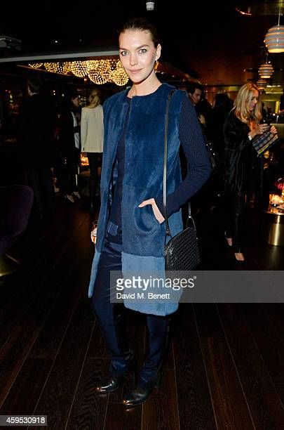 Arizona Muse attends as Osman Yousefzada and Poppy Delevingne celebrate the launch of the fourth issue of collaborative journal 'The Collective' a...