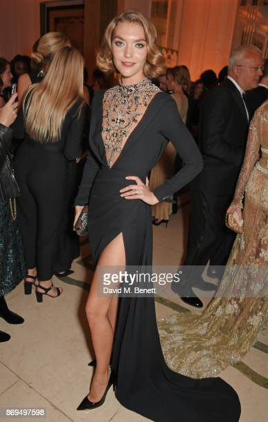 Arizona Muse attends Harper's Bazaar Women of the Year Awards in association with Ralph Russo Audemars Piguet and MercedesBenz at Claridge's Hotel on...