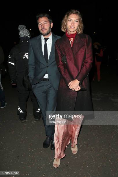 Arizona muse attends Lost In Space anniversary party at Tate Modern to mark the 60th anniversary of Speedmaster on April 26 2017 in London England