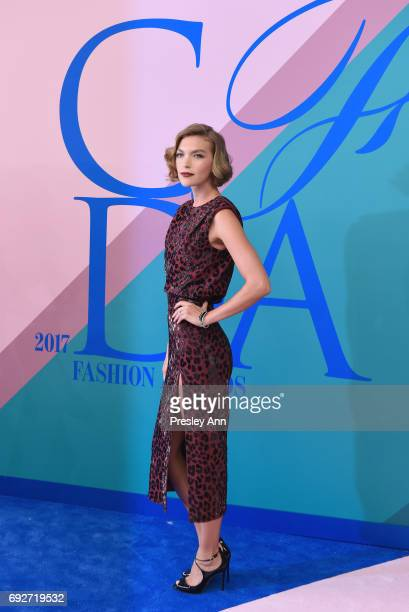 Arizona Muse attends the 2017 CFDA Fashion Awards at Hammerstein Ballroom on June 5 2017 in New York City