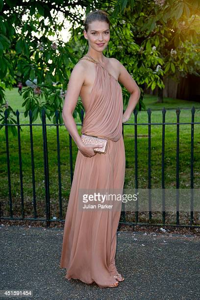 Arizona Muse attends the annual Serpentine Galley Summer Party at The Serpentine Gallery on July 1 2014 in London England