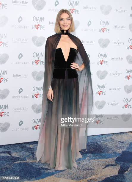 Arizona Muse attends the Chain Of Hope Gala Ball held at Grosvenor House on November 17 2017 in London England