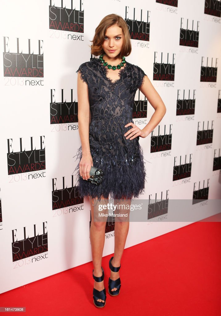 Arizona Muse attends the Elle Style Awards 2013 at The Savoy Hotel on February 11, 2013 in London, England.