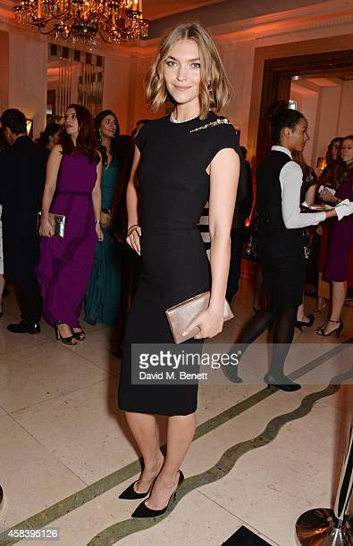 Arizona Muse attends the Harper's Bazaar Women Of The Year awards 2014 at Claridge's Hotel on November 4 2014 in London England