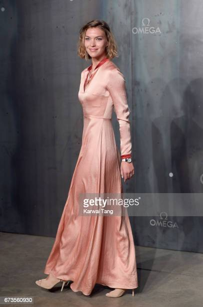 Arizona Muse attends the Lost In Space event to celebrate the 60th anniversary of the OMEGA Speedmaster at the Tate Modern on April 26 2017 in London...