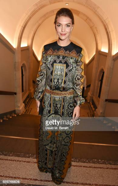Arizona Muse attends the Portrait Gala 2017 sponsored by William Son at the National Portrait Gallery on March 28 2017 in London England