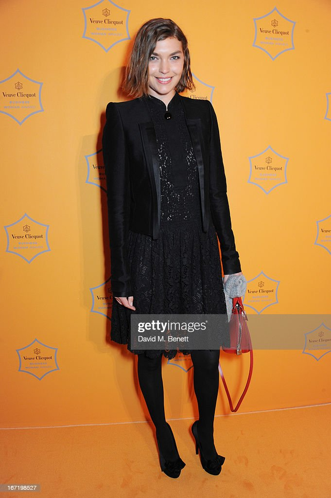 Arizona Muse attends the Veuve Clicquot Business Woman Award 2013 at Claridge's Hotel on April 22, 2013 in London, England.
