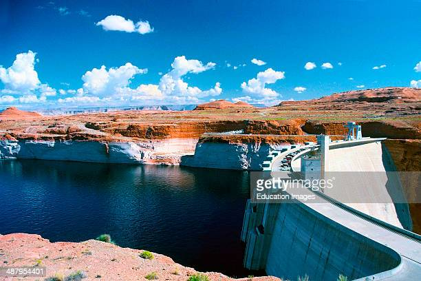Arizona Page Glen Canyon Dam
