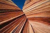 USA, Arizona, Paria Canyon-Vermilion Cliffs Wilderness, sandstone rock formations, close up