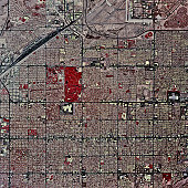USA, Arizona, Tucson, satellite image