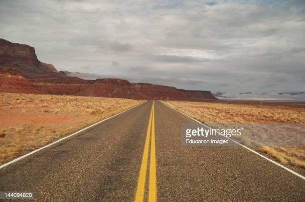 Arizona Vermilion Cliffs Desert Road
