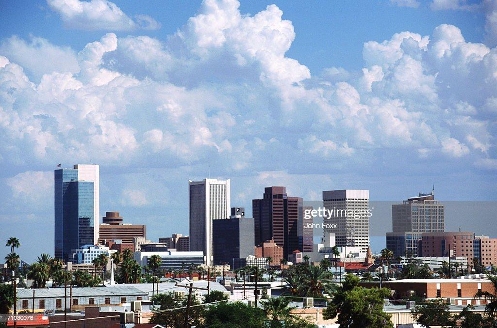 USA, Arizona, View of cityscape : Stock Photo