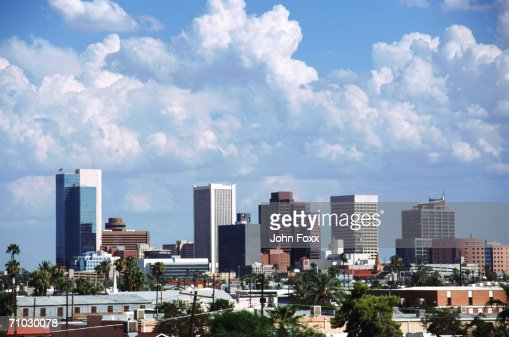 USA, Arizona, View of cityscape : Stock Photo
