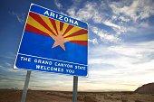 Arizona welcomes you sign