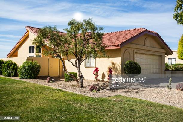 desert house stock photos and pictures getty images