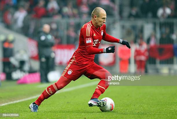 Arjen Robben 1 FußballBundesliga FC Bayern München vs Werder Bremen