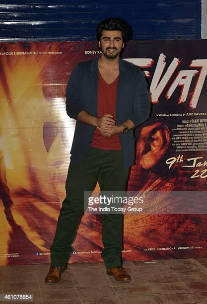Arjun Kapoor at the movie promotion of their upcoming film Tewar at IIT Powai in Mumbai