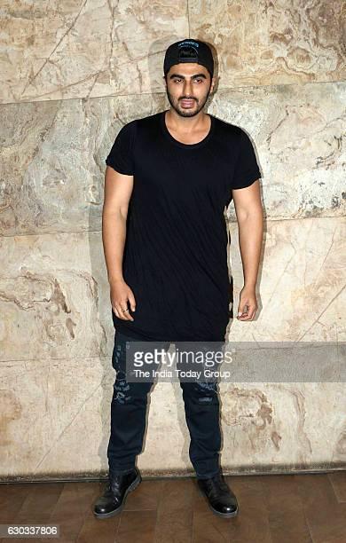 Arjun Kapoor during the special screening of film Dangal in Mumbai