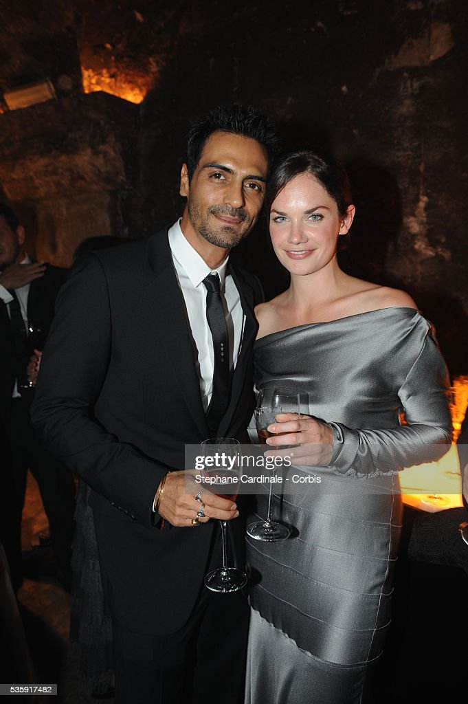 Arjun Rampal and Ruth Wilson attend the Moet & Chandon Tribute to Heritage Event in Epernay.