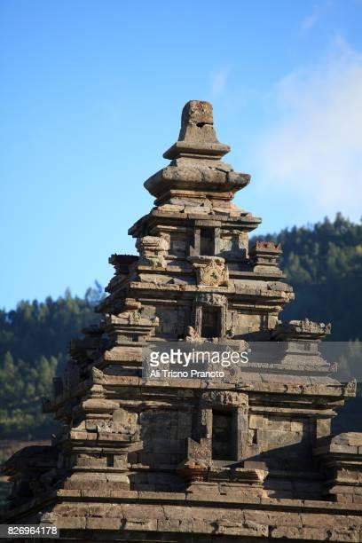 Arjuna Temple, Dieng Plateau, Central Java, Indonesia