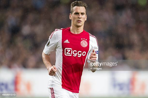 Arkadiusz Milik of Ajax during the UEFA Europa League match between Ajax and Fenerbahce on November 5 2015 at the Amsterdam Arena in Amsterdam The...