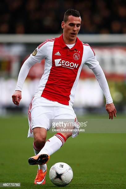 Arkadiusz Milik of Ajax in action during the Dutch Eredivisie match between SBV Excelsior Rotterdam and Ajax Amsterdam held at the Woudestein Stadium...