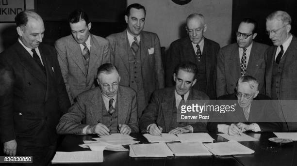 Arkansas River Water Comm The signatures of these nine men affixed to a fifteenpage document have ended a tortyfiveyear water year water feud over...