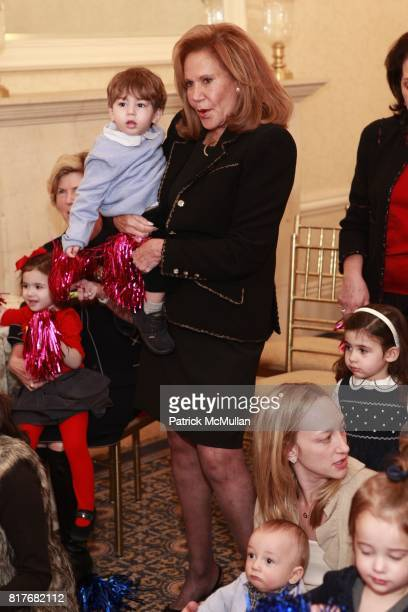 Arlene Blau attend Cupcakes And Music at Harmonie Club on December 7 2010 in New York City