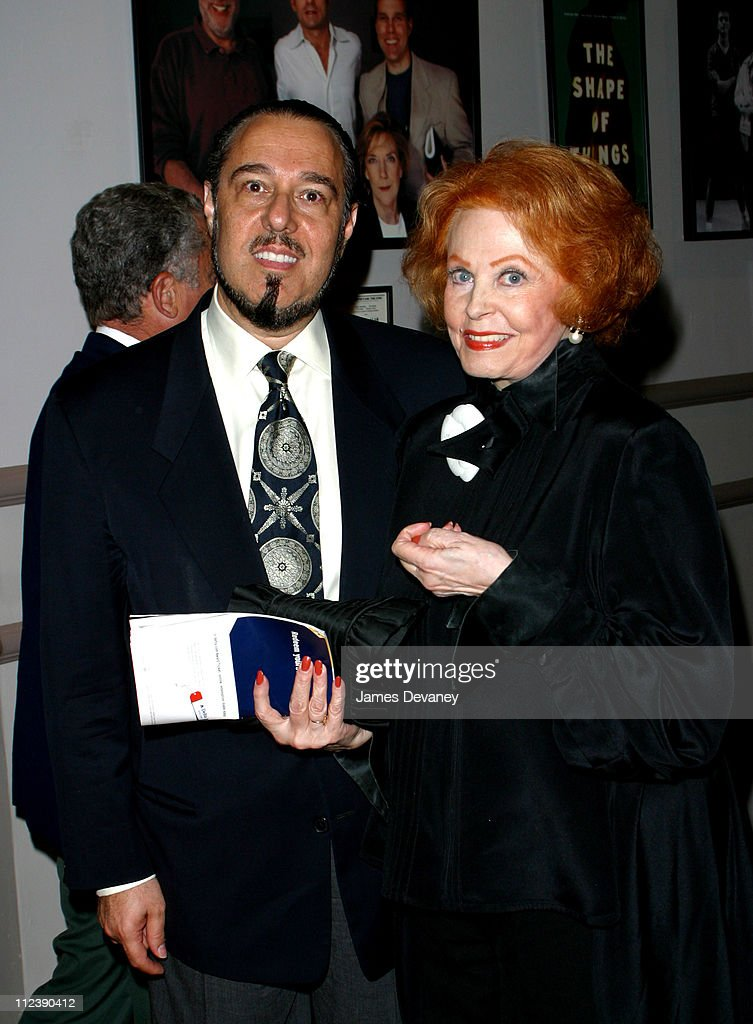 <a gi-track='captionPersonalityLinkClicked' href=/galleries/search?phrase=Arlene+Dahl&family=editorial&specificpeople=208163 ng-click='$event.stopPropagation()'>Arlene Dahl</a> and guest during 'My Old Lady' Opening Night at the Promenade Theater at Promenade Theater in New York City, New York, United States.