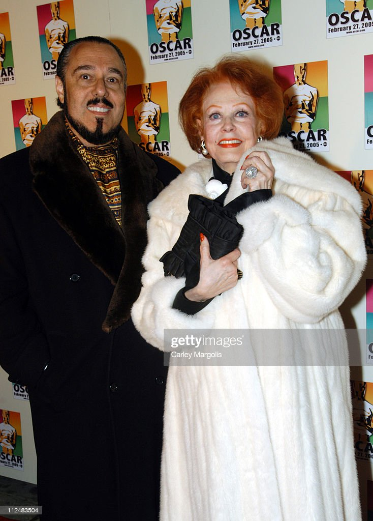 Arlene Dahl (right) and guest during Official 2005 Academy of Motion Picture Arts & Sciences Oscar Night Party at Gabriel's at Gabriel's Restaurant and Bar in New York City, New York, United States.