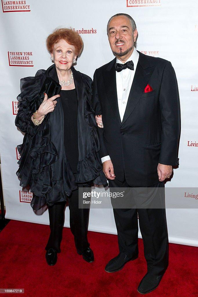 <a gi-track='captionPersonalityLinkClicked' href=/galleries/search?phrase=Arlene+Dahl&family=editorial&specificpeople=208163 ng-click='$event.stopPropagation()'>Arlene Dahl</a> and Marc Rosen attend the 2012 Living Landmarks Celebration at The Plaza on November 8, 2012 in New York City.
