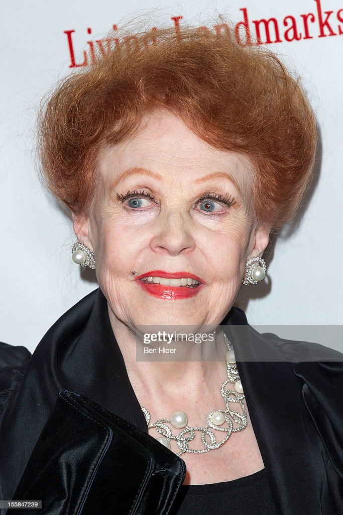 Arlene Dahl attend the 2012 Living Landmarks Celebration at The Plaza on November 8, 2012 in New York City.