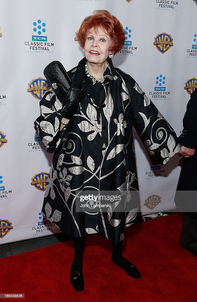 Arlene Dahl attends 'Cabaret' 40th Anniversary New York Screening at Ziegfeld Theatre on January 31, 2013 in New York City.