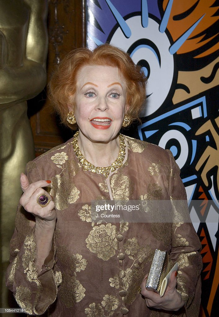 Arlene Dahl during The Academy of Motion Picture Arts & Sciences 2004 Oscar Night Party at Le Cirque 2000 in New York City, United States.