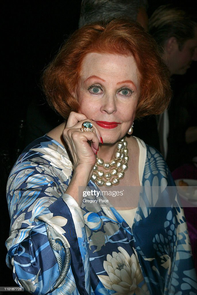 <a gi-track='captionPersonalityLinkClicked' href=/galleries/search?phrase=Arlene+Dahl&family=editorial&specificpeople=208163 ng-click='$event.stopPropagation()'>Arlene Dahl</a> during The Fragrance Foundation's 32nd Annual 'Fifi' Awards - Inside Party at Hammerstein Ballroom in New York City, New York, United States.