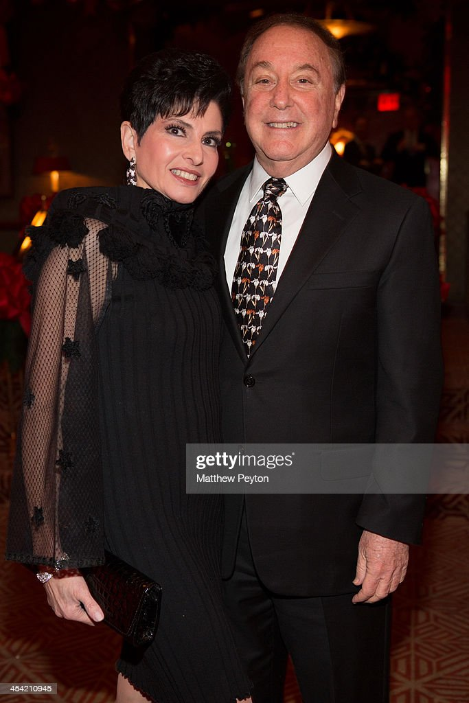 Arlene Lazar and Alan Lazar attend Stewart F. Lane - aka 'Mr. Broadway' & Bonnie Comley's Holiday Party at The Doubles Club on December 6, 2013 in New York City.